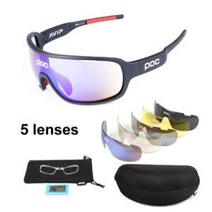 POC bike polarized Sports Sunglasses cycling riding goggles FREE SHIPPING