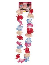 Hawaiian Assorted Colour Flower Leis Great Hawaiian Party Fun