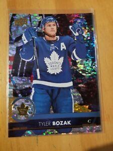 Tyler Bozak 2017-18 Upper Deck Gold Rainbow Foil #418 E-Pack Exclusives SP Leafs