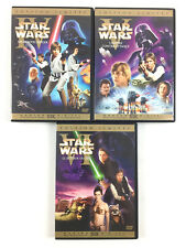 Star Wars La Trilogie Edition Limitée Version Cinema D'origine Coffret Lot 6 DVD