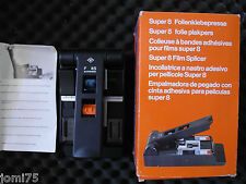 AGFA Germany SUPER 8 FILM SPLICER FOLIENKLEBEPRESSE Vintage