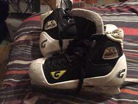Graf Goaler Pro goalie skates size 7