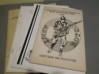 Training Guides US military ROTC 1960s  Booklets military  Training ROTC Qty 4