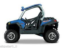 Polaris RZR 900 blau, ATV Modell 1:32, Maisto, Neu, OVP