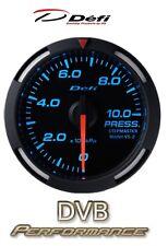 Defi Racer 60mm coche Manómetro De Aceite-Azul-Jdm Estilo motor paso a paso