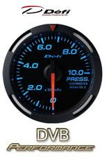 DEFI Racer voiture 60 mm Pression D'Huile Jauge-Bleu-JDM Style photorépéteur Motor