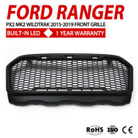 Front Grille For Ford Ranger PX2 MK2 Wildtrak 2015 - 2019 With DRL LED