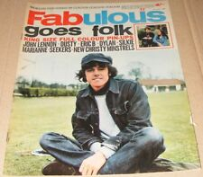 Fabulous magazine UK  July 3 1965 Donovan cover Bob Dylan John Lennon Seekers