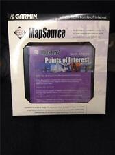 GARMIN MAPSOURCE, POINTS OF INTEREST CD, Mfg# 010-10215-07, NEW IN PACKAGE!!