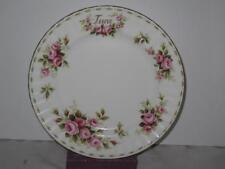 Royal Albert June Flower of the Month Roses Salad Dessert Plate (s)