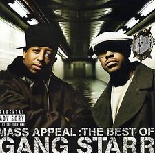 Mass Appeal: The Best of Gang Starr [PA] by Gang Starr (CD, Dec-2006, Virgin)