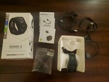TomTom Spark 3 Cardio + Music GPS Fitness Watch and Headphones - Black Open Box
