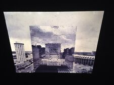 """William Clift """"Reflection, Old St. Lewis Courthouse"""" Photography 35mm Art Slide"""