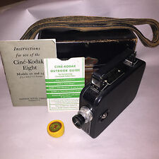CINE-KODAK EIGHT MODEL 25, 8mm film, 13mm f/2.7 - f/16 .F-2.7 lens, 1932-47