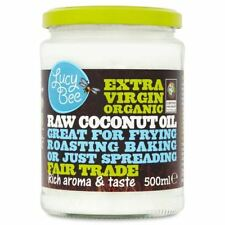 Lucy Bee Extra Virgin Raw Organic Coconut Oil - 500ml (16.91fl oz)
