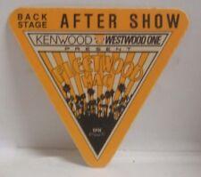 Fleetwood Mac / Stevie Nicks - Original Tour Cloth Backstage Pass *Last One*