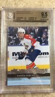 14-15 UD Series 1 Young Guns YG Rookie RC #225 AARON EKBLAD Graded BGS 9.5