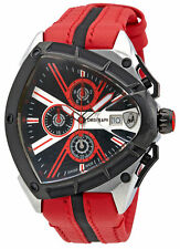 Lamborghini Spyder 9000 Black Dial Mens Chronograph Watch 9006