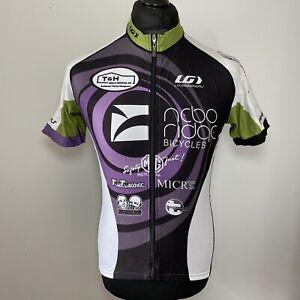 Louis Garneau Team Nebo Ridge Cycling Jersey Short Sleeve Unisex Men's XL VGC