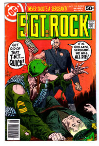 SGT. ROCK #320 in VG condition a 1978 DC Bronze Age WAR comic