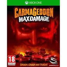 Carmageddon-Max daño para XBOX One (nuevo Y Sellado)