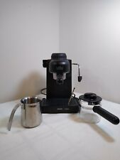 Krups Espresso IL Primo Coffee Maker 972A Cappuccino Machine Black