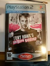 Tony Hawk's American Wasteland PS2 / spotless disc no paperwork / FREEPOST