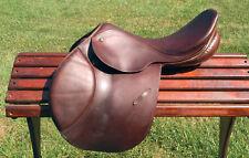 """Stubben ARTUS Extra close contact saddle 17-17.5"""" 29 tree WOOL brown"""