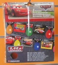 CARS FESTONE CON PALLONCINI 2,50 m  FESTA COMPLEANNO PARTY BUFFET