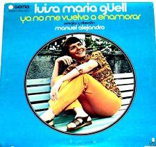 Luisa Maria Guell Ya No Me Vuelvo a Enamorar   LP