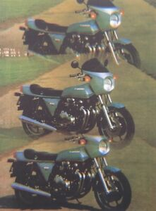 KAWASAKI Z1R - 29 PAGE FILE feat BUYERS GUIDES / MODEL HISTORY / ARTICLES