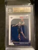 2019-20 Zion Williamson Panini Hoops No258 Rookie BGS 9.5