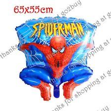 Cartoon Foil Balloon Spider-man C Birthday Party Decoration Round 65CM*55CM