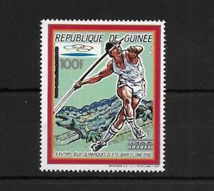 Guinea,1991,Olympic,overpr,MNH,Mi 1322,RARE