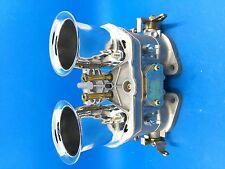 48IDF oem carburetor + air horns replacement for Solex Dellorto Weber EMPI  48MM