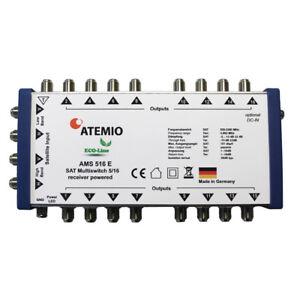 ATEMIO AMS516E Multischalter ECO-Line 5/16 (1 Satellit auf 16 Teilnehmer)