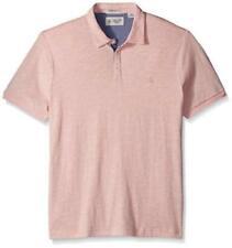 Camicie casual e maglie da uomo rosa in cotone con colletto