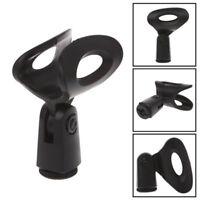 Mikrofon Mikrofonstativzubehör Flexible Kunststoffklemme  Cliphalterung