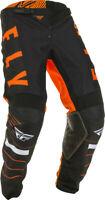 Fly Racing Mens Orange/Black/White Kinetic K120 Dirt Bike Pants MX ATV 2020