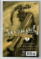 Sandman Overture #6 - Nm - 1 for 200 Dave McKean cover variant!