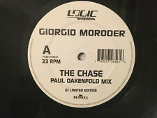 Giorgio Moroder The Chase Junior Sanchez & Paul Oakenfold mixes white label BMG