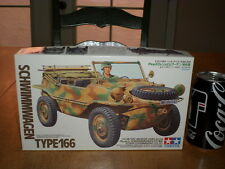 WW#2, GERMAN, Pkw.K2s SCHWIMMWAGEN  TYPE 166, Plastic Model Kit, Scale 1/35