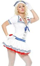 Forplay Sailor Sweetie Womens Fancy Dress Costume 558523