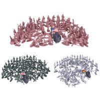 100pcs Soldados militar Figuras Ejército Juguetes Colección educativos Reg*QA