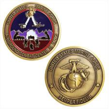 Vanguard Marine Corps Coin: Air Ground Combat Center 29 Palms