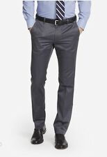 $98 Bonobos Weekday Warriors Dress Pants~ Friday Grays Grey~ Straight Fit~ 40x32