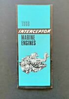 1968 Interceptor Marine Engines Brochure