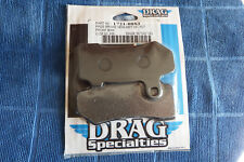 DRAG SPECIALTIES FRONT BRAKE PADS HARLEY FITMENT IN DESCRIPTION NEW 1721-0883