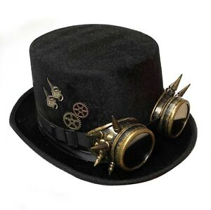 Cosplay Hut Steampunk Zubehör Halloween Cosplay zylinder de07