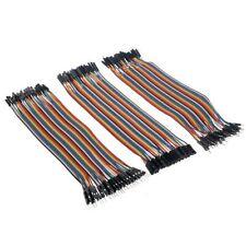 120pcs Dupont wire maschio a maschio + femmina a femmina + maschio o femmina Jumper Cavo